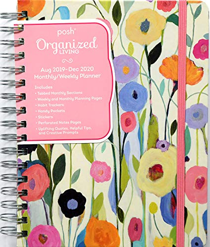 Posh: Organized Living 2019-2020 Monthly/Weekly Planning Calendar: Summer's Beauty