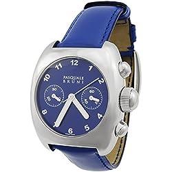 Pasquale Bruni Uomo Chronograph Edelstahl Swiss Made Automatik Herren-Armbanduhr 01mca33