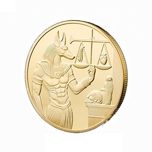 Paquete: 1 pieza de la caja de la cápsula de la moneda de oro con el bolso de OPP