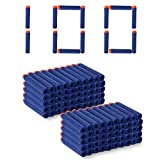 #2: Toy Bullet Foam Dart Bullets for N-Strike Elite Guns, 100-Pieces, (Multi)