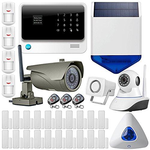 FUERS - G90B Alarme Maison 2.4G WiFi GSM GPRS sans Fil