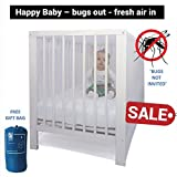 Mosquito Net for Crib by #1 EVEN Natural...