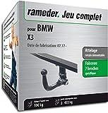 Rameder Attelage rotule démontable pour BMW X3 + Faisceau 7 Broches...