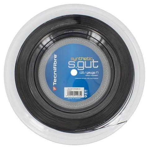 Bobine Tecnifibre Synthetic Gut Noir 200m - 1.25