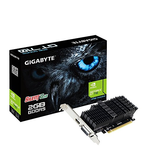 Gigabyte GeForce GT 710 Silent Low Profile 2G GDDR5