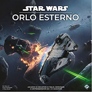 Asmodee Italia- Star Wars: Dobladillo Exterior Juego de Mesa, Color, 9095