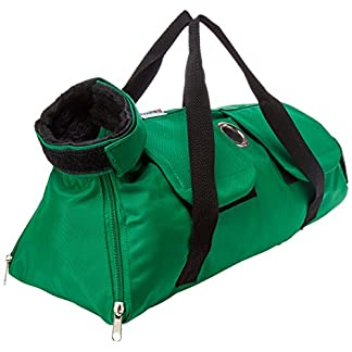 Kruuse Buster No Scratch Pet Examination Bag, 8-12 lb, Green 51VUeHCUIYL