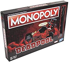 Official Merchandise Monopoly Game Marvel Deadpool Edition