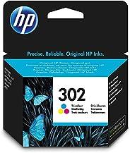 HP 302 Inktcartridge Cyaan, Geel, Magenta, 3 kleuren Standaard Capaciteit (F6U65AE) origineel van HP