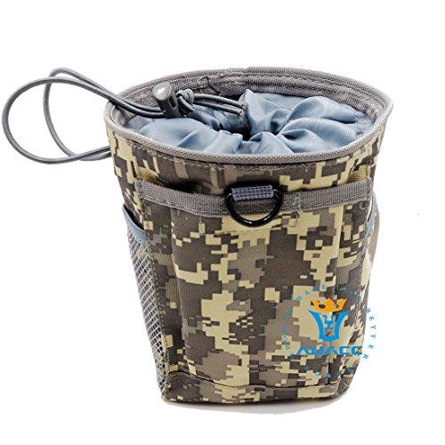 Multifunzione sopravvivenza Gear Pouch Tattico Molle Pouch rivista Dump munizioni Drop Utility Pouch Bag, campeggio portatile Borse Marsupio strumento Pouch Custodia da viaggio, MC ACU