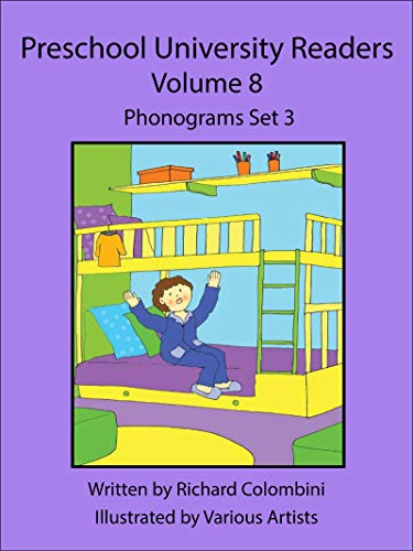 Preschool University Readers Volume Set 8: Phonograms Set 3 (English Edition)