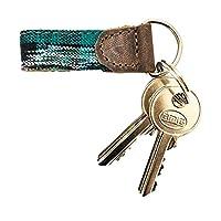 Rustic Mayan Key Chain Handmade by Hide & Drink :: Tropical Lime