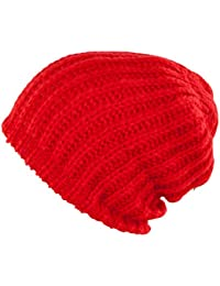 Tom Tailor Denim Damen Mütze rot Strick
