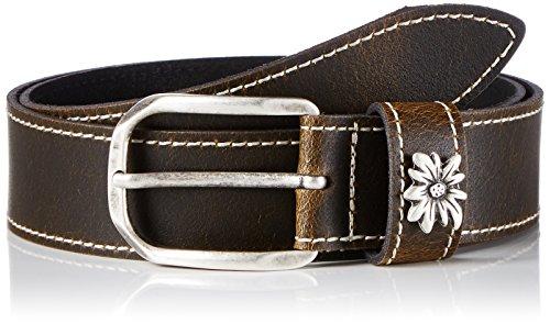 werner-trachten-trachtengurtel-cinturon-unisex-adulto-braun-braun-pull-up-510-80-cm-talla-fabricante