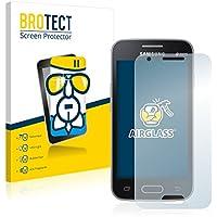BROTECT AirGlass Protector Pantalla Cristal Flexible Transparente para Samsung Galaxy Trend II Lite Protector Cristal Vidrio - Extra-Duro, Ultra-Ligero, Ultra-Claro