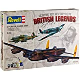 """Revell Modellbausatz 05729 - Geschenkset """"WWII Masters of the skies"""" (Royal Air Force Classics) im Maßstab 1:72"""