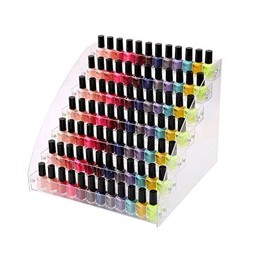 Nagellack Aufbewahrung Display Ständer Acryl Nagellackdisplay Lippenstiftständer Aufbewahrung - Aufbewahrung Nagellack