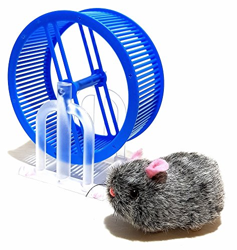 Wheel runner Spielzeug Haustier Hamster Maus Hamsterrad Laufrad Batterie