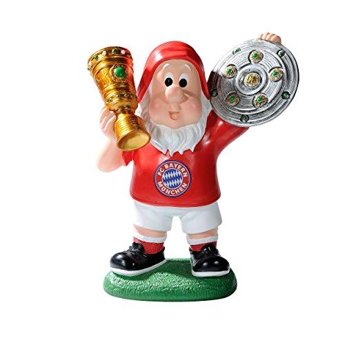 FC Bayern München Gartenzwerg / Zwerg / garden Gnome - Double FCB