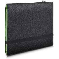 Stilbag maßgeschneiderte Tablet-Hülle FINN | Farbe: anthrazit-grün | Tablettasche aus Filz | Tablet Schutzhülle | Tasche Made in Germany
