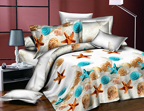 Dexim 3D Print Double Polysatin Bed Sheet With Two Pillow Cover Set (Multi)  available at amazon for Rs.799