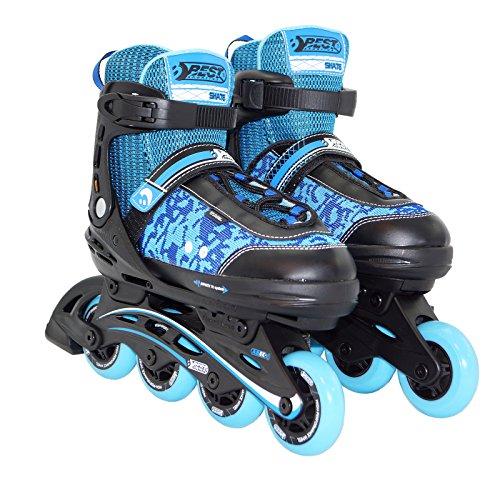 Best Sport Kinder Inline-skates Inline-Skates, blau/schwarz, 29-34, 2307256