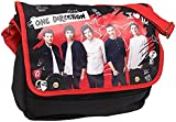 One Direction Official 1D New Red Shoulder Tote School Canvas Bag