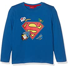Superman Chicos Camiseta mangas largas - Azul
