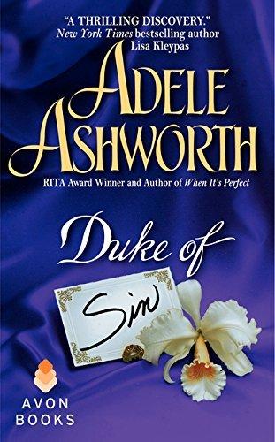 Portada del libro Duke of Sin (The Duke Trilogy) by Adele Ashworth (2004-10-26)