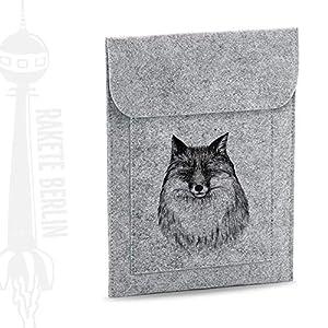 Tablet Filzhülle 'Fuchs – gezeichnet'