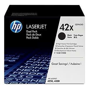 HP Original LaserJet Q5942XD Dual Pack Black