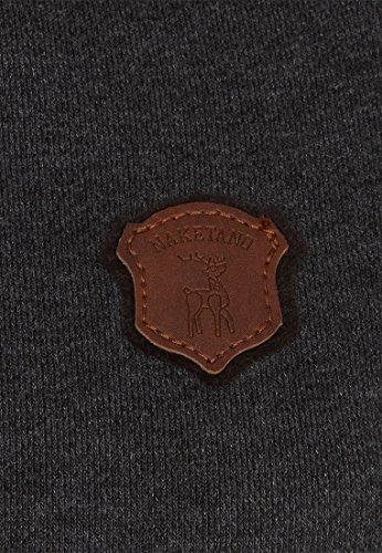 Naketano Female Hoody So ein Otto IV Anthracite Melange - Black