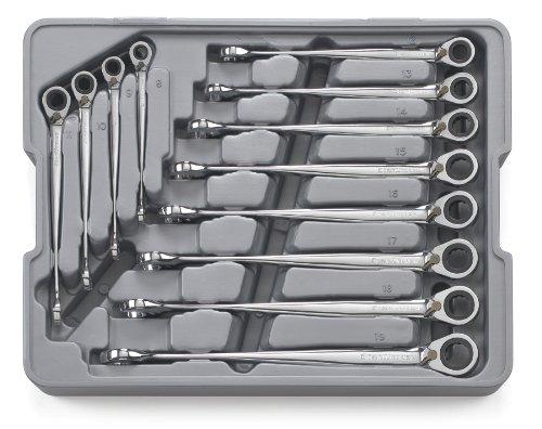 GearWrench 8538812Stück Reversible x-beam Kombination Ratschenschlüssel Set Metrisches (Gearwrench Kombination Metrisch)