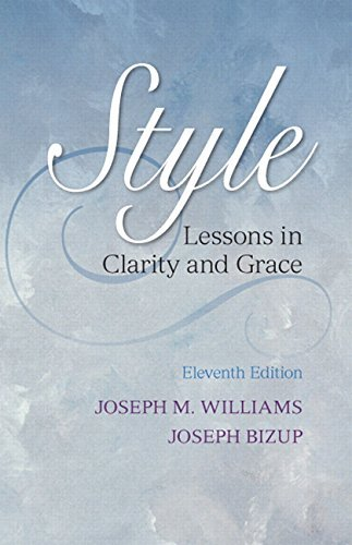 Style: Lessons in Clarity and Grace Plus NEW MyCompLab -- Access Card Package (11th Edition) by Joseph M. Williams (2013-02-09)