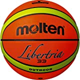 Molten Basketball, Orange/Gelb, 7, B7T4000