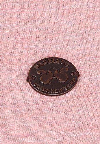 Naketano Female Sweatshirt Krokettenhorst Schmutzmuschi Pink Melange, M - 5