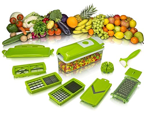 Occasions Genius Nicer and Dicer Plus Multi Chopper Vegetable Cutter Fruit Slicer  available at amazon for Rs.999