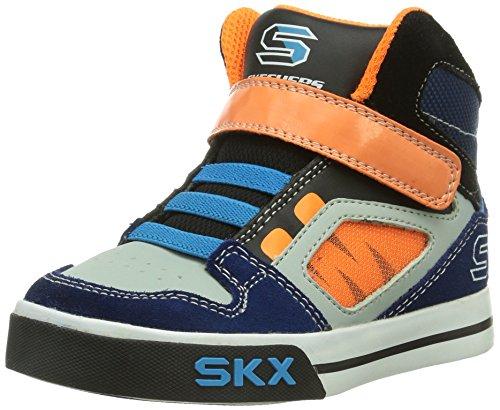 Skechers - Yoke, Sneaker a collo basso Bambino Blu (Blau (NVOR))