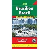Freytag Berndt Autokarten, Brasilien - Maßstab 1:2.000.000 - 1:3.000.000
