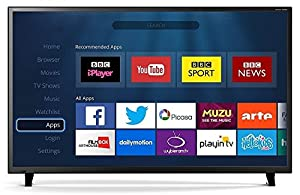 "43"" LED Smart TV Full HD 1080p Freeview HD Media Player / Record and Wifi"