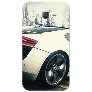 BetaDesign Cars Back Cover, Designer Cover for Samsung Galaxy J7 (Multicolor)