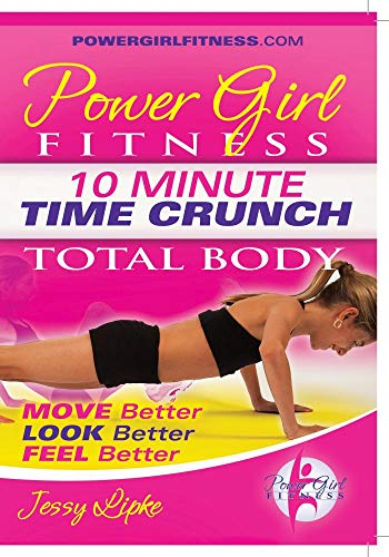 Power Girl Fitness - Time Crunch - 10 Minute TOTAL BODY Workout DVD 10 Power Girl