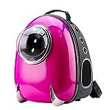 CloverPet Luxus-Astronaut für Hunde, Katzen, Welpen Haustier-Rucksack, rosa