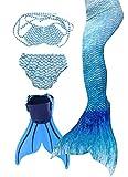 Flyhigh Bambina Coda di Sirena con Pinne