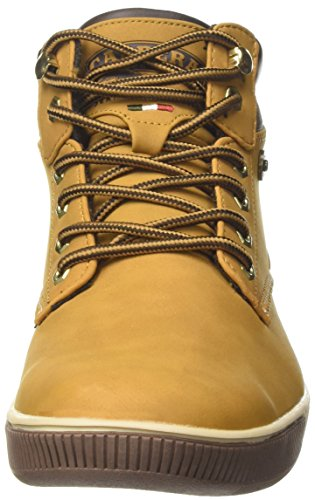 Carrera Ronnie Nbk, Sneaker a Collo Alto Uomo Giallo (Tan)