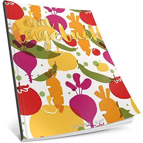 Dékokind® Diät-Tagebuch: Clevere 90 Tage Challenge zum Abnehmen || Das Abnehmtagebuch / Ernährungstagebuch zum Ausfüllen || C_06