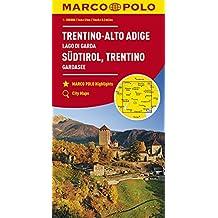 MARCO POLO Karte Italien Blatt 3 Südtirol, Trentino, Gardasee 1:200 000 (MARCO POLO Karten 1:200.000)
