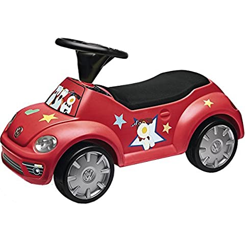 Volkswagen 5C0087500B645 Rutschauto Junior Beetle, rot