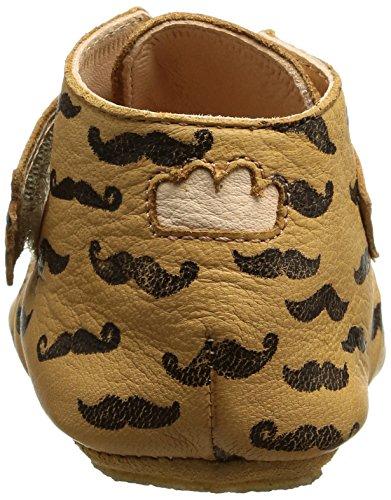 Easy Peasy - Kiny Moustache, Scarpine e pantofole primi passi Bimbo 0-24 Marrone (Braun (539 oxi/noir))