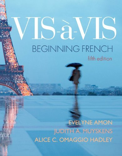 Vis-a-Vis: Beginning French